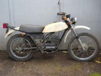 For Sale: 1975 CAN-AM 125 vintage 2 stroke motorcycle.