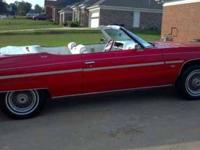 1975 Chevrolet Caprice Classic Convertible American