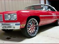 THIS IS A SPECIAL ONE FOLKS. CANDY STRIPED INTERIOR RED