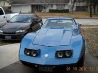 1975 CHEVROLET Corvette; Come get it before she does.