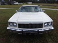 1975 chevy caprice conv.- this was the last of the full