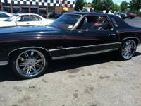 Up for sale is a 1975 Chevy Monte Carlo. This car has