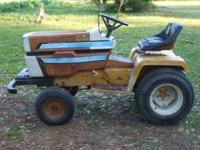 I have a 1975 International Harvester Cub Cadet lawn