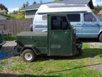 1975 cushman police truckster.no rust runs good new