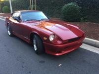 -This is a Custom 280Z V8 conversion in AMAZING, low
