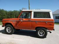 1975 Ford Bronco Classic Truck This 1975 Ford Bronco