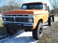 '75 Ford Ranger F250 4WD Hi-Boy, Body & Frame solid