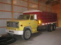 1975 GMC 6000 350 with 5 speed transmission 2 speed