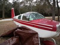 1975 Grumman AA1B Aircraft Airplane is situated in