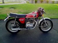 Up for sales is my unbelievable 1975 Honda CB360T. CA