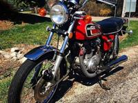 I'm selling my 75' Honda CB360t. I originally bought