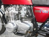 I have a 1975 Honda CB550 Super Sport for sale.