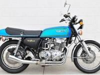 1975 Honda CB750 FOUR SUPERSPORT MC21k miles, recent