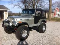 Year : 1975 Make : Jeep Model : Wrangler Exterior Color