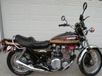 ,,,,,,,1975 Kawasaki Z1 900 Motorcycle with a recently