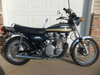 This is an incredible Kawasaki Z1 900! Exactly what