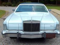 Classic 1975 Lincoln mk iv with only about 63,000