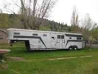 1975 Miley 4 Horse Trailer, doors on both sides & back