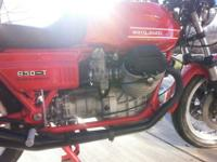 BASED 1975 MOTO GUZZI 850 T THIS BIKE HAS LM1 SET UP