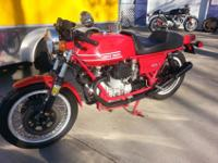 1975 MOTO GUZZI 850 T THIS BIKE HAS LM1 SET UP VERY