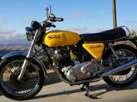 1975 Norton Commando 850 Mark III is in excellent