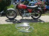 1975 Norton Commando 850. I have all the initial