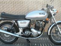 .,.,1975 Norton Commando MK3 Interstate. History of the