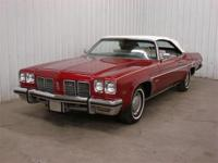 1975 Oldsmobile Delta 88 Convertible. Only 55k actual