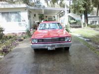 1975 Plymouth Duster for sale. Slant 6, auto, runs