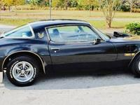 1975 pontiac trans am,with a 400 cubic inch V-8 with an