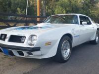 1975 Pontiac Trans Am H.O.  -One of only 857 built.