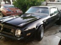 This is a all numbers matching 1975 Pontiac Trans Am