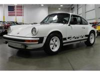 Here is a rare opportunity to purchase a true Porsche