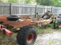 1975 chevy frame with running motor trans/transfer case