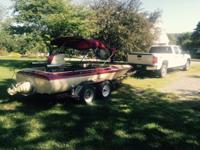 1975 Sanger Big Block Checy CA to PA boat currently