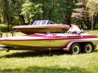 1975 Sanger Jet Boat 502 Big Block Chevy .40 over