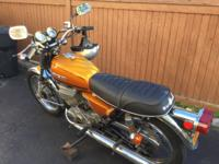 Used in good condition. 1975 Suzuki GT 250 2 Stroke oil