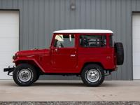 1975 Toyota FJ40 Landcruiser Finished in Factory right