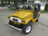 1975 Toyota FJ40 Landcruiser original Soft top modelA