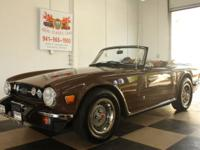 Nice TR6 fully serviced new tires and brakes , this