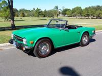 1975 TRIUMPH TR6, 1975 Triumph TR6 Convertible for