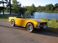 1975 Triumph TR6 Long-time Triumph enthusiast selling