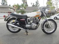 1975 Triumph Trident T160 Motorcycle T-160Runs great