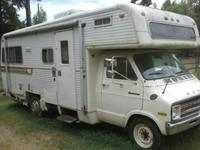It is a 1975 Dodge Sportsman Holiday Rambler. I bought