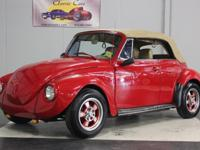 Stk#014 1975 Volkswagen Beetle Restored in 2001 this