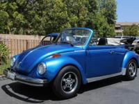 A fun top-down Super Beetle with a fuel injected 1600cc