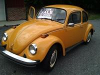 1975 Standard beetle, fuel injection, 100% original,