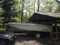 For sale is a 1975 Wellcraft Airslot 165 open bow ski