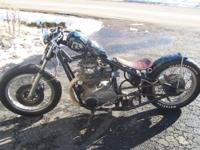 1975 XS650: TRIPS and runs EXCELLENT ... PAINT AND