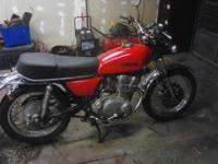 I have an aged Yamaha XS 500 in great shape for it age